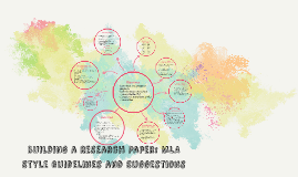 Building a Research Paper: MLA Style Guidelines and Suggesti
