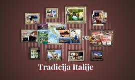 Tradicija Italije