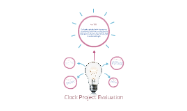 Clock Project Evaluation