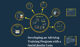 Developing an Advising Training Program with a Social Justic