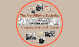 The Pro-Filipino Societies