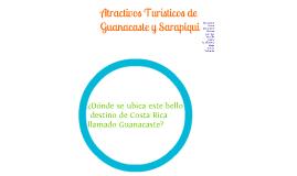Atractivos turisticos de guanacaste y Sarapiqui