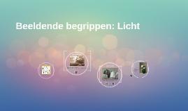 Beeldend begrip: Licht