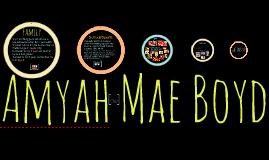 Amyah Mae Boyd