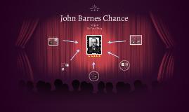 John Barnes Chance