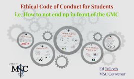 Ethical Code of Conduct for Students