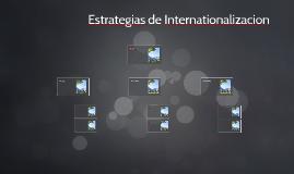 Estrategias de Internationalizacion