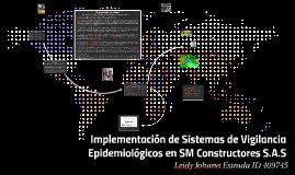 Copy of IMPLEMENTACION DE SISTEMAS DE VIGILANCIA EPIDEMIOLÓGICOS EN