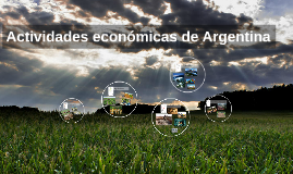Actividades económicas de Argentina