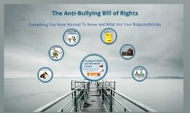 Anti-Bullying Bill of Right Presentation