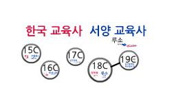 about korean pedagogy and western pedagogy