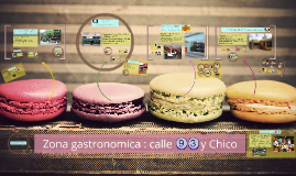 Zona gastronomica :