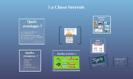 La Classe Inversée-Prérentrée 2015