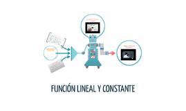 Copy of FUNCIÓN LINEAL Y CONSTANTE