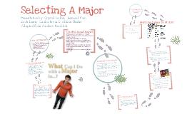 Selecting A Major