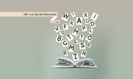 Copy of ABC's of Special Education