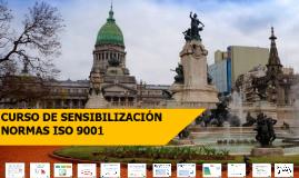 Curso de Sensibilización sobre las Normas ISO_DHyC