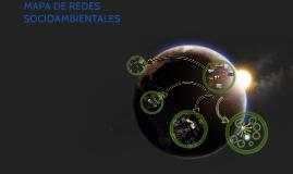 MAPA DE REDES SOCIOAMBIENTALES