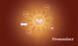 Pronominer