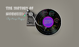 THE HISTORY OF MUSIC!!!!