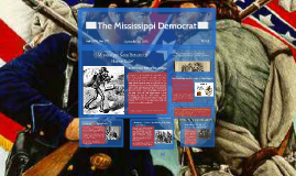 Reconstruction Propaganda in Mississippi - R. LaHaie