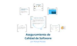 Aseguramiento de Calidad de Software