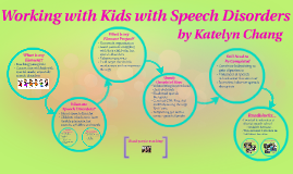 Working With Kids With Speech Disorders
