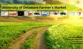 University of Delaware Farmer's Market