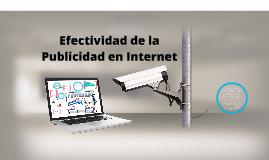 Copy of Efectividad de la Publicidad en Internet