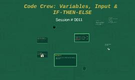 Code Crew 011