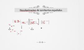 Decolonizacion de España