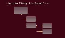A Narrative History of the Islamic State