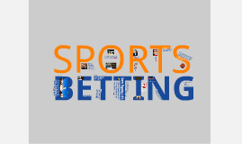 Legalization of Sports Betting - with video