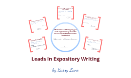 Leads in Expository Writing