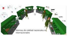 Normas de calidad nacionales e internacionales