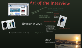 Art of the Interview