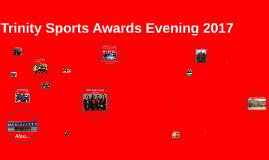Trinity Sports Award Evening 2017