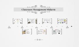 Classroom Management Midterm