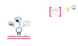 CAPÍTULO 8: COMUNICACIÓN EN PÚBLICO. ESTRATEGIA PARA PERSUADIR