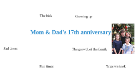 Mom & Dad anniversary