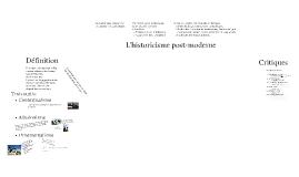 L'historicisme post-moderne