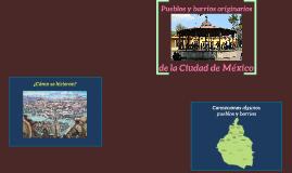Pueblos y barrios originarios del Distrito Federal