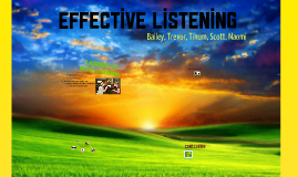 Copy of Effective Listening