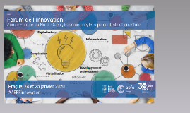 Cinq mots pour l'innovation,  mai 2017