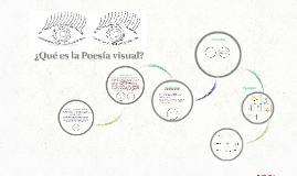 ¿Qué es Poesia visual?