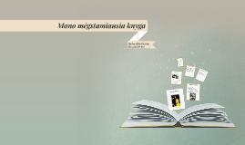 Mano mėgstamiausia knyga