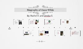 Biography of Oscar Wilde