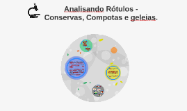 Copy of Analisando Rótulos - Conservas e Compotas