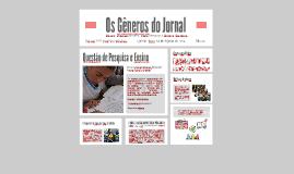 Gêneros do Jornal