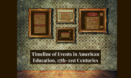 Copy of American Education in the 17th Century